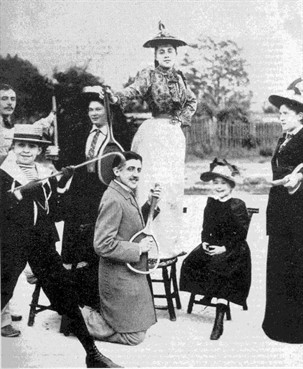 Proust Tennis Rond 1892