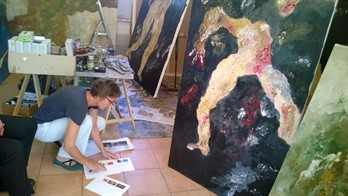 17.04_Helge In Armando ´s Atelier